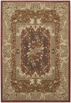 Couristan Pera 2078/0171 Mohul Bouquet Chocolate Sage Closeout Area Rug - Spring 2011