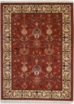 Karastan English Manor 2120-510 William Morris Red Closeout Area Rug