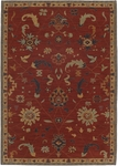Karastan English Manor 2120-554 Preston Red Closeout Area Rug