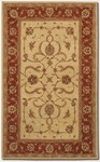Couristan Persian Romances 2144/6590 Floral Malayer Red/Ivory Closeout Area Rug
