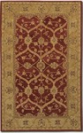 Couristan Persian Romances 2145/6600 Floral Arabesques Ivory/Red Closeout Area Rug