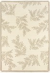Couristan Super Indo-Natural 2150/6000 Pine Hills White Closeout Area Rug