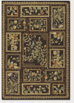 Couristan Covington 2185/5112 Orchard View Chocolate/Multi Closeout Area Rug