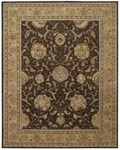 Nourison 2000 Collection 2206 Brown Area Rug