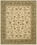 Nourison 2000 Collection 2209 Ivory Closeout Area Rug - Spring 2016