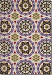 Couristan Covington 2238/0801 Astral Lavender/Raspberry Closeout Area Rug - Spring 2015
