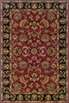 Oriental Weavers Windsor 23102 Red/Black Area Rug