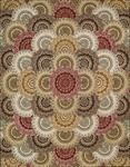 Nourison 2000 Collection 2335 MTC Multi Closeout Area Rug - Spring 2016