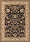 Couristan Antalya 2366/0101 Manisa Noir-Cream Closeout Area Rug - Spring 2017