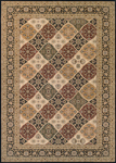 Couristan Antalya 2511/0101 Ankara Noir-Cream Closeout Area Rug - Spring 2017
