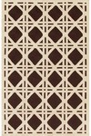 Rug Market Resort 25206 Cane Brown/Ivory Closeout Area Rug