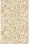 Rug Market Resort 25240 Deco Flower Green/Ivory Closeout Area Rug