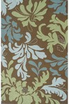 Rug Market Resort 25355 Seychelles Brown/Green/Blue Closeout Area Rug