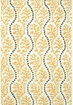 Rug Market Resort 25439 Coral Cascade Yellow/Grey/White Area Rug