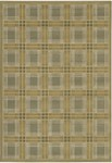 Couristan Everest 2830/6489 Royal Tartan Sage Classic Ivory Closeout Area Rug