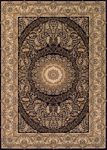 Couristan Antalya 2946/0101 Bursa Noir-Cream Closeout Area Rug - Spring 2017