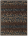 Feizy Saphir Adur 3098F Coffee/Teal Closeout Area Rug