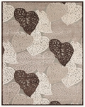 Feizy Saphir Zam 3108F Pewter/Grey Closeout Area Rug