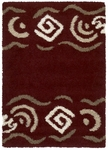 United Weavers Aurora 320 02134 Sideweaver Cranberry Closeout Area Rug