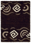 United Weavers Aurora 320 02151Sideweaver Chocolate Closeout Area Rug