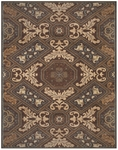 Feizy Rivington 3234F CHO Chocolate Closeout Area Rug