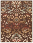 Feizy Rivington 3235F CHO Chocolate Area Rug