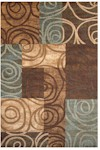 Feizy Rivington 3248F CHO Chocolate Area Rug