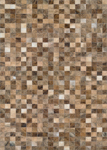 Couristan Chalet 3268/9017 Pixels Brown Area Rug