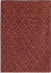 Karastan Woven Impressions 35502-22159 Diamond Ikat Chili Pepper Closeout Area Rug