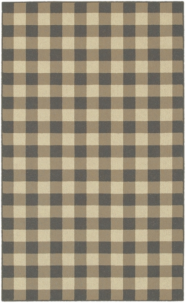 Karastan French Check Rugs 357 29529 Coffee Check Closeout