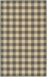 Karastan French Check Rugs 357-29529 Coffee Check Closeout Area Rug