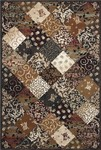 Couristan Bauhaus 3754/0007 Valvate Multi Color Closeout Area Rug