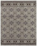 Feizy Saphir 3786F Dark Chocolate/Silver Closeout Area Rug