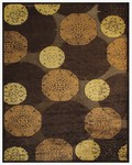 Feizy Saphir 3795F Coffee Closeout Area Rug