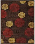 Feizy Saphir 3795F Dark/Chocolate Closeout Area Rug
