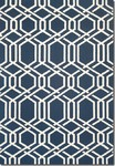 Couristan Covington 3895/0953 Ariatta Navy Area Rug
