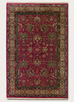 Couristan Royal Imperial 3900/0040 Kochi/Red Closeout Closeout Area Rug
