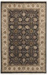 Couristan Royal Imperial 3900/0080 Floral Bijar Black/Ivory Closeout Area Rug