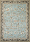 Couristan Konya 3969/0963 Sakarya Light Blue-Charcoal Closeout Area Rug - Spring 2017