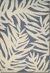 Couristan Covington 3990/0901 Palms Azure Area Rug