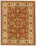 Feizy Wilshire 399CF Coral/Ivory Closeout Area Rug