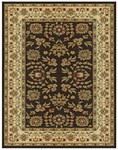 Feizy Wilshire 399EF Charcoal/Ivory Closeout Area Rug
