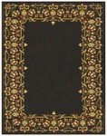 Feizy Wilshire 39A4F Charcoal Closeout Area Rug