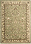 Shaw Living Arabesque Coventry 00300 Pale Leaf Closeout Area Rug - 2014