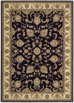 Shaw Living Arabesque Coventry 00500 Cannon Black Closeout Area Rug - 2014