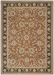 Shaw Living Arabesque Coventry 00600 Polished Copper Closeout Area Rug - 2014