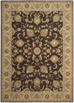 Shaw Living Arabesque Coventry 00700 Cocoa Closeout Area Rug - 2014
