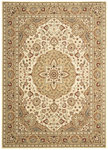 Shaw Living Arabesque Easton 02100 Ivory Cream Closeout Area Rug - 2014