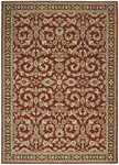 Shaw Living Arabesque Juliard 03800 Firebrick Red Closeout Area Rug - 2014