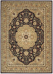 Shaw Living Arabesque Easton 02500 Cannon Black Closeout Area Rug - 2014